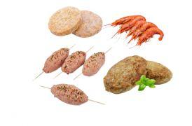 Полуфабрикаты из рубленого мяса, птицы, рыбы