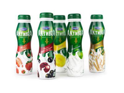 """Йогурт """"Активия"""" питьевая 2-2,4% -0,29 в ассортименте"""