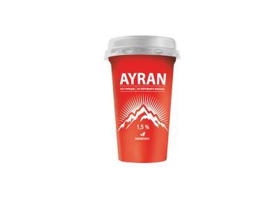 """Напиток кисломолочный """"Айран"""" 1,5%  220 мл"""