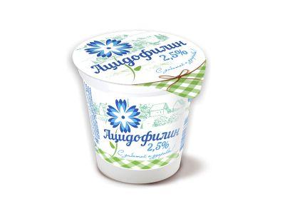 """Напиток кисломолочный """"Ацидофилин"""" 2,5% -0,15"""