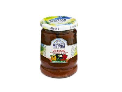 "Баклажаны по-краснодарски с овощами ""Меленъ"" 0,52"