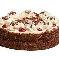 """Торт """"Безе с клюквой и шоколадом"""" 1,0 кг"""