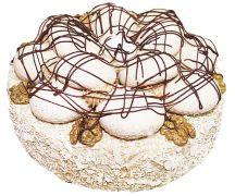 """Торт """"Безе с грецким орехом"""" 0,7 кг"""