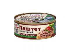 """Паштет """"Бурбонский"""" из свиного мяса 0,19"""
