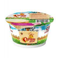 """Сыр плавленный  """"Чизбрейк"""" со вкусом и ароматом чеснока и трав 45% 170 гр"""