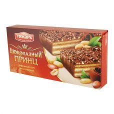 """Торт вафельный глазированный """"Шоколадный принц"""" 260 гр"""
