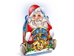"""Подарок """"Дед Мороз с часами"""" 950 гр"""