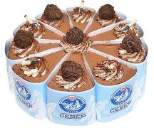 "Торт ""Два шоколада"" 0,85 кг"