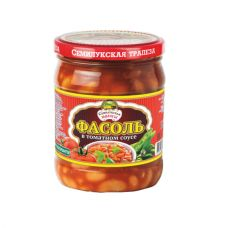 Фасоль в томатном соусе 500 гр