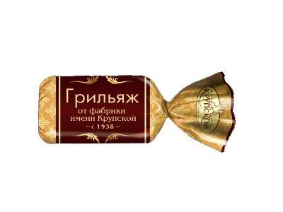 """Конфеты """"Грильяж"""" от фабрики им.Крупской"""