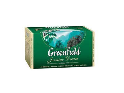 """Чай  зеленый """"Гринфилд""""  с жасмином 25 пак."""