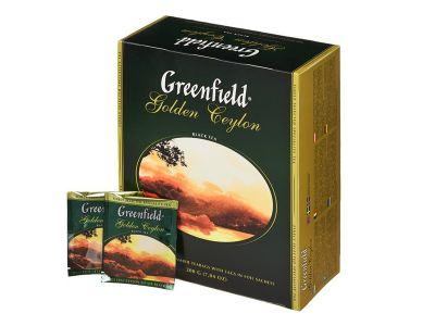"Чай ""Гринфилд Голден Цейлон"" 100 пак."