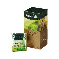 """Чай  зеленый """"Гринфилд""""  Мелисса 25 пак"""