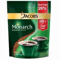 """Кофе растворимый  """"Якобс"""" Монарх 220гр."""