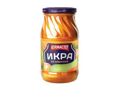 Икра кабачковая 0,48 ТМ Кухмастер