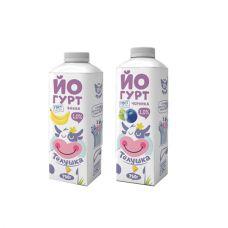 "Йогурт ""Телушка"" 1% 750 мл"