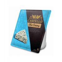 """Сыр с голубой плесенью """"Кастелло блю крими"""" 56%   0,125"""