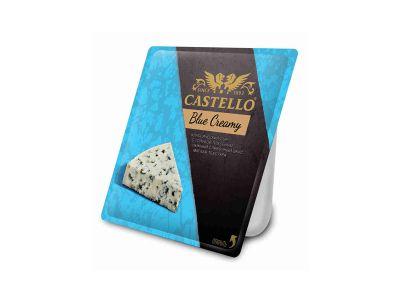 """Сыр """"Кастелло блю крими"""" с голубой плесенью  56%   0,125  ТМ Кастелло"""