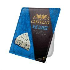 """Сыр сголубой плесенью """"Кастелло Блю классик"""" 50%  0,125"""
