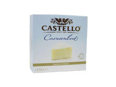 """Сыр с белой плесенью """"Кастелло Камамбер"""" 50% 0,125"""