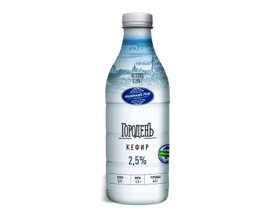 Кефир 2,5% 0,95 /ТМ Городенъ/