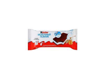 Киндер молочный ломтик 27,9%  28 гр