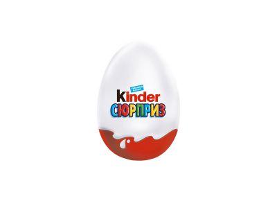 "Шоколадное яйцо ""Киндер сюрприз"" 20 гр"