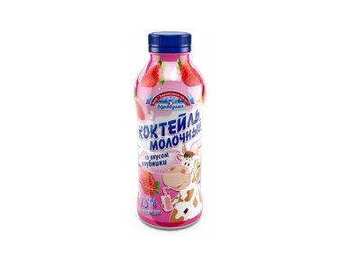 Коктейль молочный 1,5% - 0,45 в ассортименте