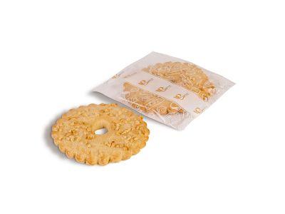 Кольцо песочное  с орехом 80 гр