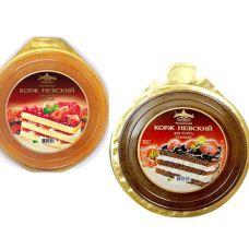 """Корж """"Невский"""" бисквитный для торта 400 гр  /Биско/"""