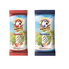 """Мороженое стаканчик вафельный """"Коровка МУУ-у"""" с фрктовым наполнителем 12% 80 гр"""