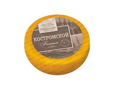 """Сыр  """"Костромской премиум""""  45%"""