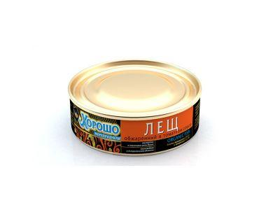 """Лещ обжаренный в томатном соусе 0,24 ТМ """"Хорошо"""""""