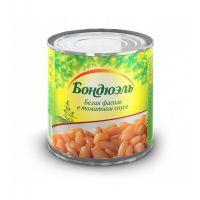 """Фасоль белая в томатном соусе 0,43 ТМ """"Бондюэль"""""""