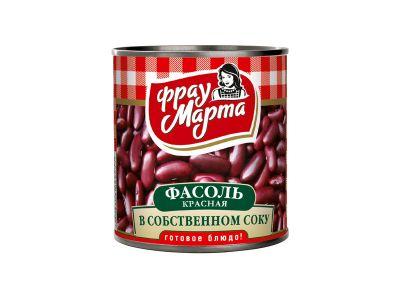 """Фасоль красная в с/с 0,31  """"Фрау Марта"""""""