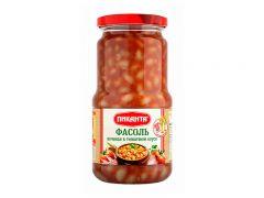 """Фасоль """"Пиканта"""" печеная в томатном соусе 0,53"""