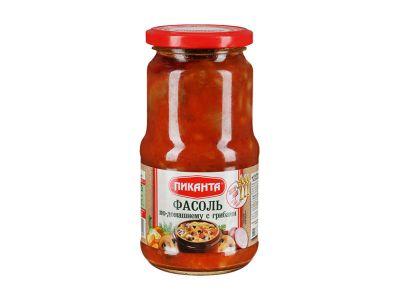 """Фасоль """"Пиканта"""" по-домашнему с грибами 0,53"""