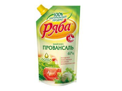 """Майонез """"Ряба"""" провансаль 67%  - 0,41"""