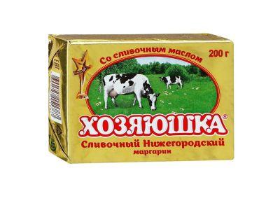 "Маргарин ""Хозяюшка"" сливочный 60% 200 гр"
