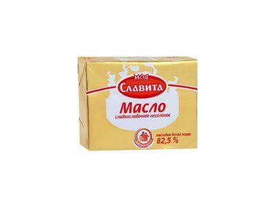"""Масло сладкосливочное """"Моя славита"""" 82,5%  0,18"""