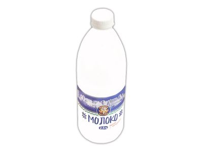 Молоко пастеризованное 2,5% 1,4 л.