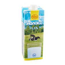Молоко ультрапастеризованное 1,5%  1л.