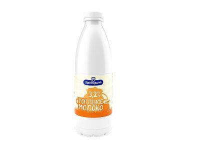 """Молоко """"Топленое"""" 3,2% - 0,93"""
