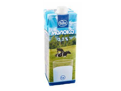 Молоко ультрапастеризованное 3,2% 1л. /с крыжкой/