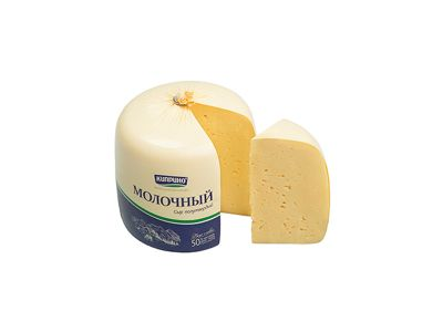 """Сыр """"Молочный"""" 50%"""