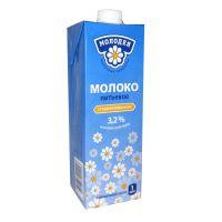 """Молоко стерилизованное """"Молодея"""" 3,2% - 1 л"""