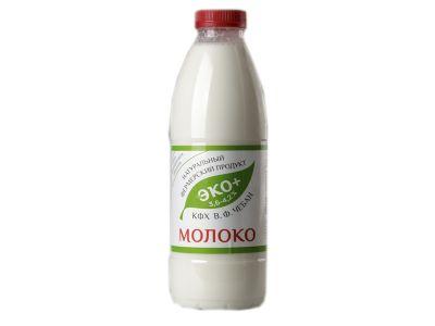 Молоко пастеризованное отборное 3,6-4,2%  0,95