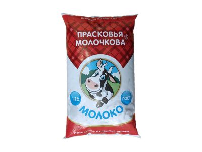 Молоко 1,2%  0,9