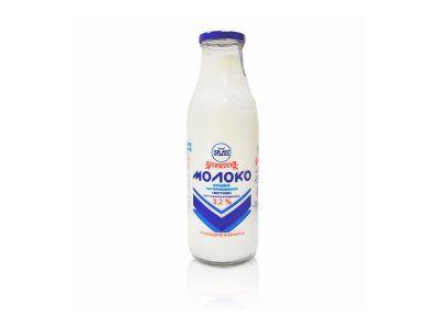 """Молоко питьевое пастеризованное """"Вкусное"""" обогащенное витамином С 3,2%  0,73"""