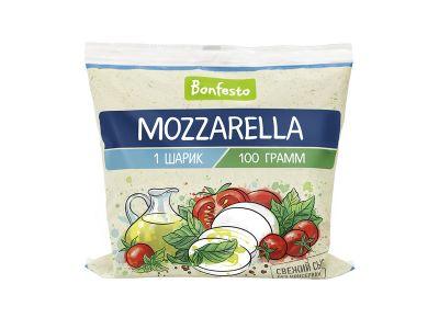 """Сыр """"Моцарелла"""" в рассоле 45% -0,1"""